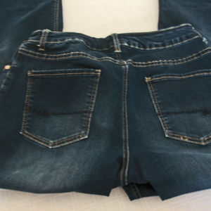 Maurice's Premium Dark Denim Jeans Embellished